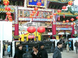 (女馬)祖廟@横浜中華街春節