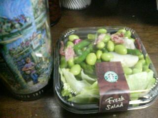 アスパラとベーコンのサラダ